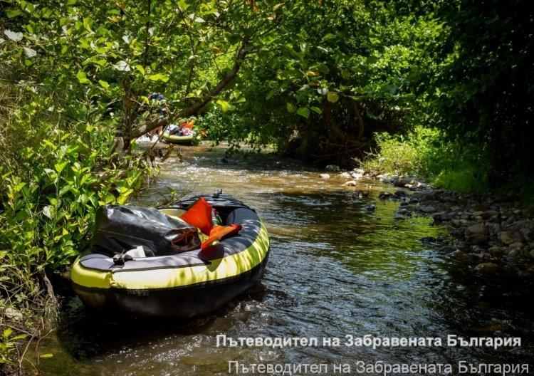 Експедиция Тунджа: 40 км по течението на реката (ДЕН 1)